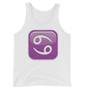 Men's Emoji Tank Top - Cancer-Just Emoji