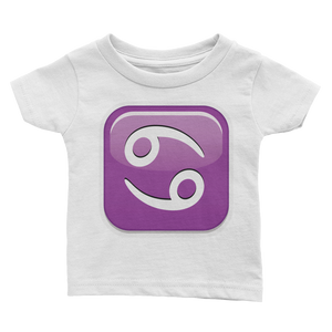 Emoji Baby T-Shirt - Cancer-Just Emoji