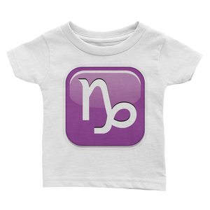 Emoji Baby T-Shirt - Capricorn-Just Emoji