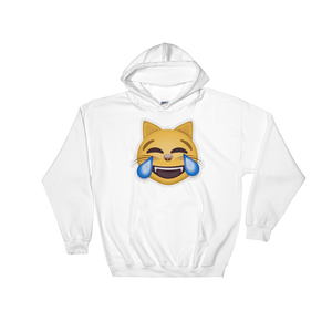 Emoji Hoodie - Cat Face With Tears Of Joy-Just Emoji