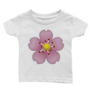 Emoji Baby T-Shirt - Cherry Blossom-Just Emoji