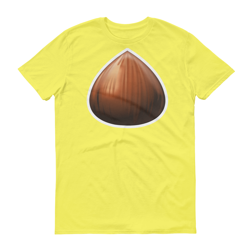 Men's Emoji T-Shirt - Chestnut-Just Emoji