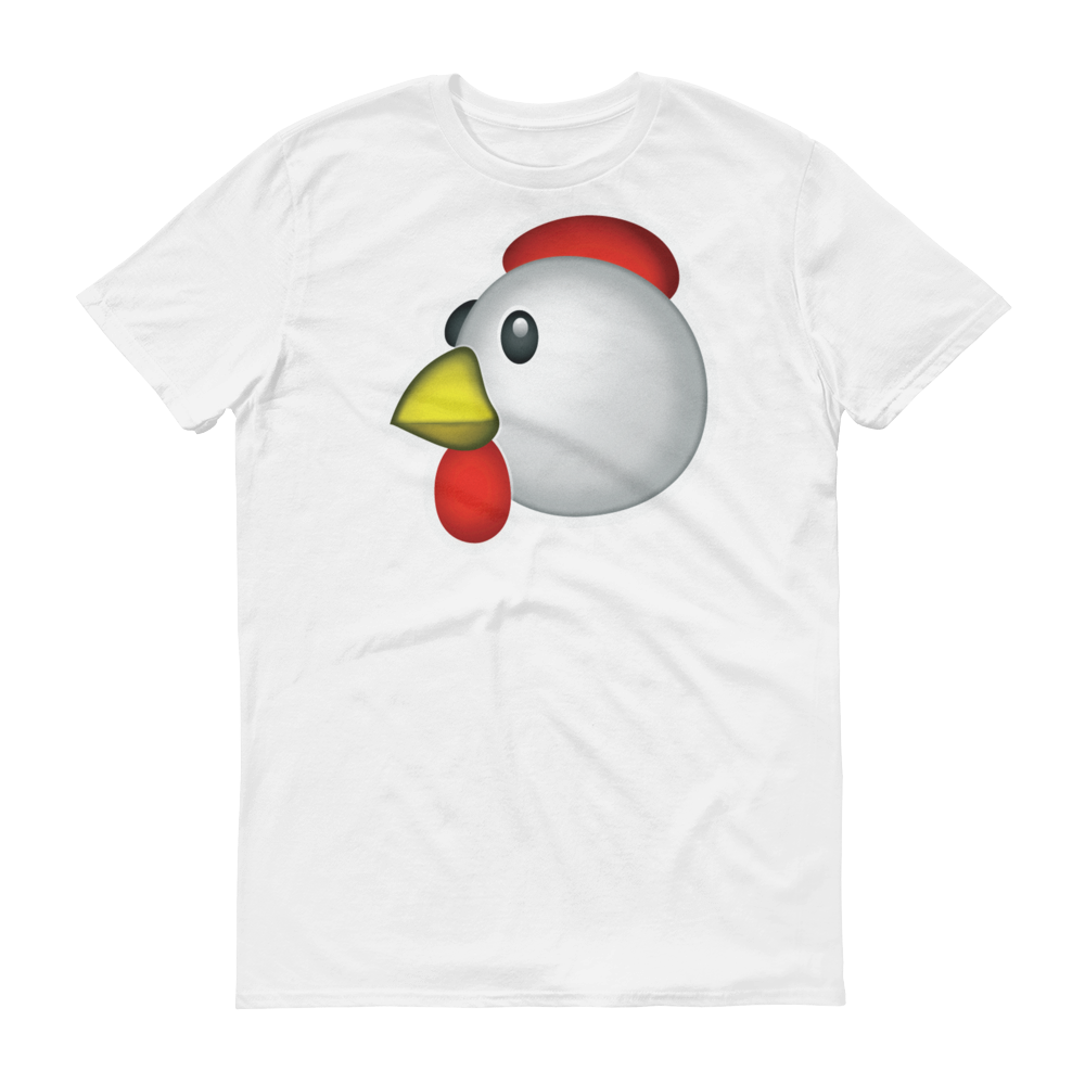 Men's Emoji T-Shirt - Chicken-Just Emoji