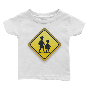 Emoji Baby T-Shirt - Children Crossing-Just Emoji