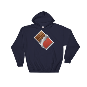 Emoji Hoodie - Chocolate Bar-Just Emoji