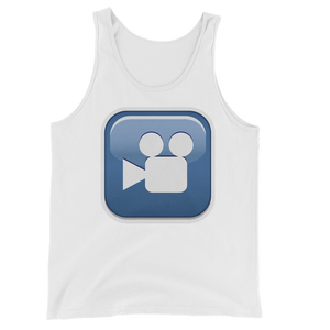 Men's Emoji Tank Top - Cinema-Just Emoji