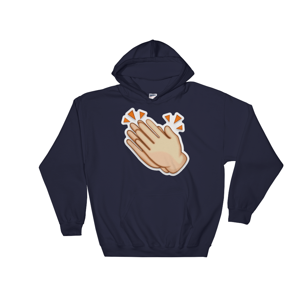 Emoji Hoodie - Clapping Hands Sign-Just Emoji