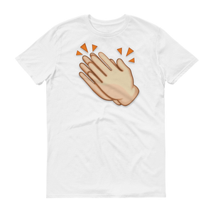 Men's Emoji T-Shirt - Clapping Hands Sign-Just Emoji