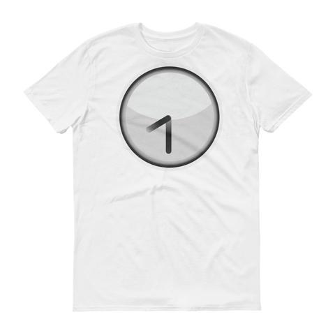 Men's Emoji T-Shirt - Clock Face Eight Thirty-Just Emoji