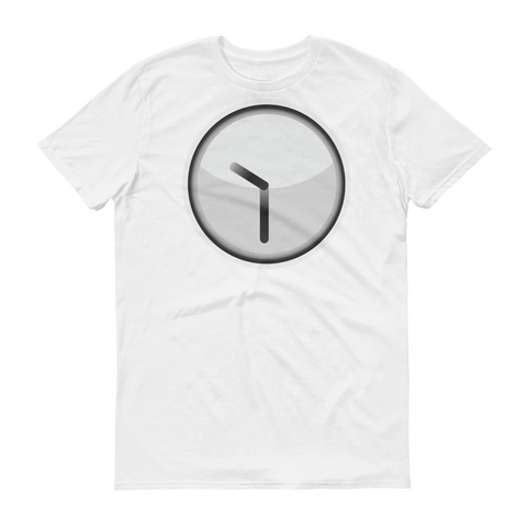 Men's Emoji T-Shirt - Clock Face Ten Thirty-Just Emoji