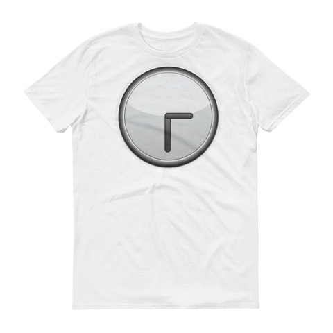 Men's Emoji T-Shirt - Clock Face Three Thirty-Just Emoji
