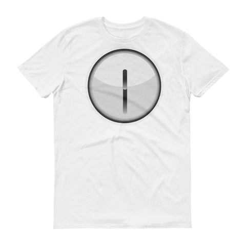 Men's Emoji T-Shirt - Clock Face Twelve Thirty-Just Emoji