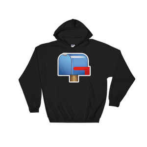 Emoji Hoodie - Closed Mailbox With Lowered Flag-Just Emoji