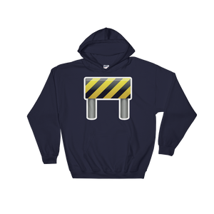Emoji Hoodie - Construction Sign-Just Emoji