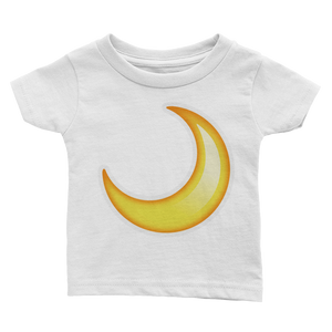 Emoji Baby T-Shirt - Crescent Moon-Just Emoji