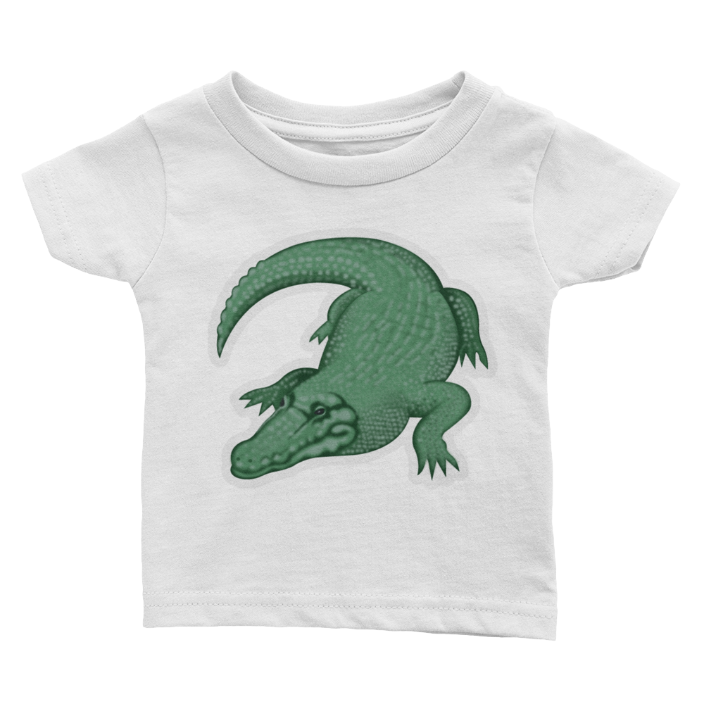 Emoji Baby T-Shirt - Crocodile-Just Emoji