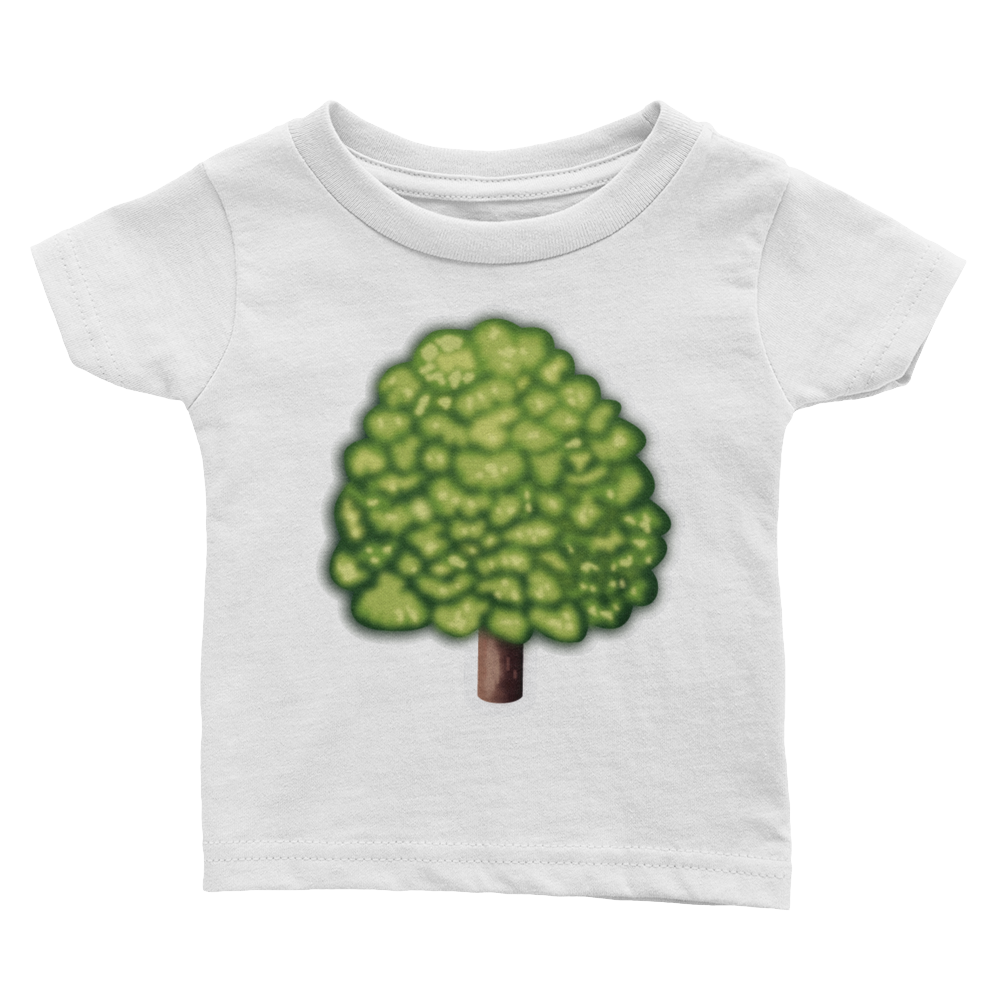 Emoji Baby T-Shirt - Deciduous Tree-Just Emoji