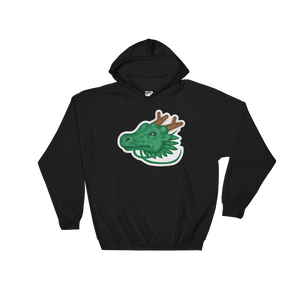 Emoji Hoodie - Dragon Face-Just Emoji