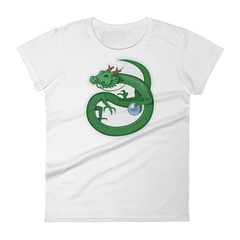 Women's Emoji T-Shirt - Dragon-Just Emoji