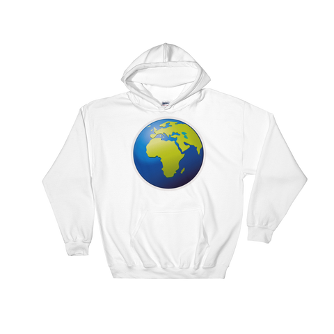 Emoji Hoodie - Earth Globe Europe Africa-Just Emoji