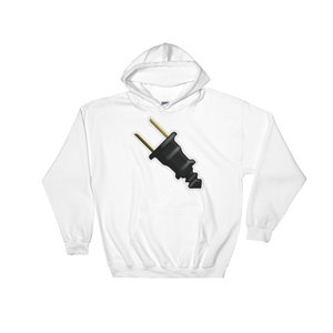 Emoji Hoodie - Electric Plug-Just Emoji