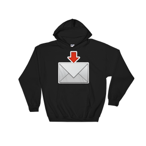 Emoji Hoodie - Envelope With Downwards Arrow Above-Just Emoji