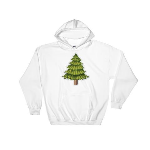 Emoji Hoodie - Evergreen Tree-Just Emoji