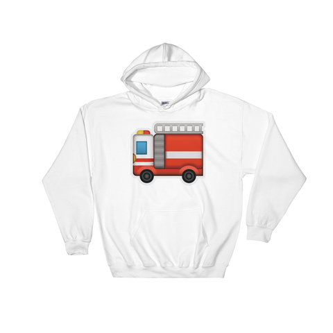 Emoji Hoodie - Fire Engine-Just Emoji