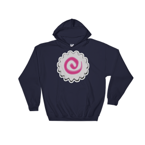 Emoji Hoodie - Fish Cake With Swirl Design-Just Emoji