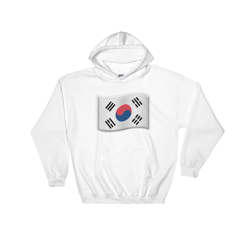Emoji Hoodie - Flag Of Korea-Just Emoji