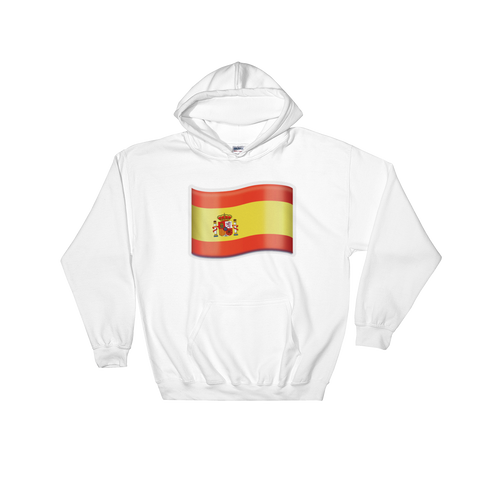 Emoji Hoodie - Flag Of Spain-Just Emoji
