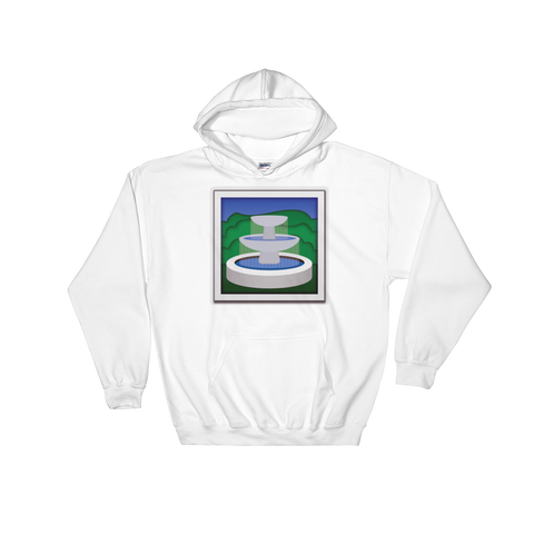 Emoji Hoodie - Fountain-Just Emoji