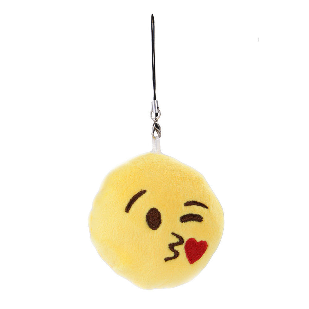 Emoji Keychain - Face Throwing A Kiss-Just Emoji