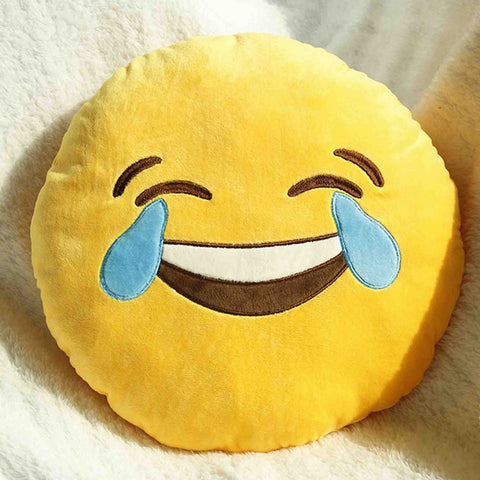 Emoji Cushion - Face With Tears Of Joy-Just Emoji