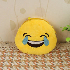 Emoji Coin Purse - Face With Tears Of Joy-Just Emoji