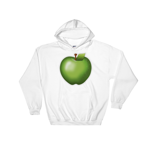 Emoji Hoodie - Green Apple-Just Emoji