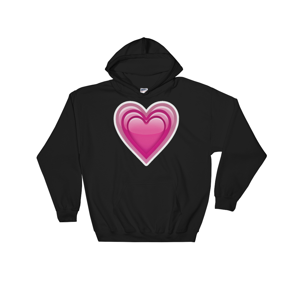 Emoji Hoodie - Growing Heart-Just Emoji