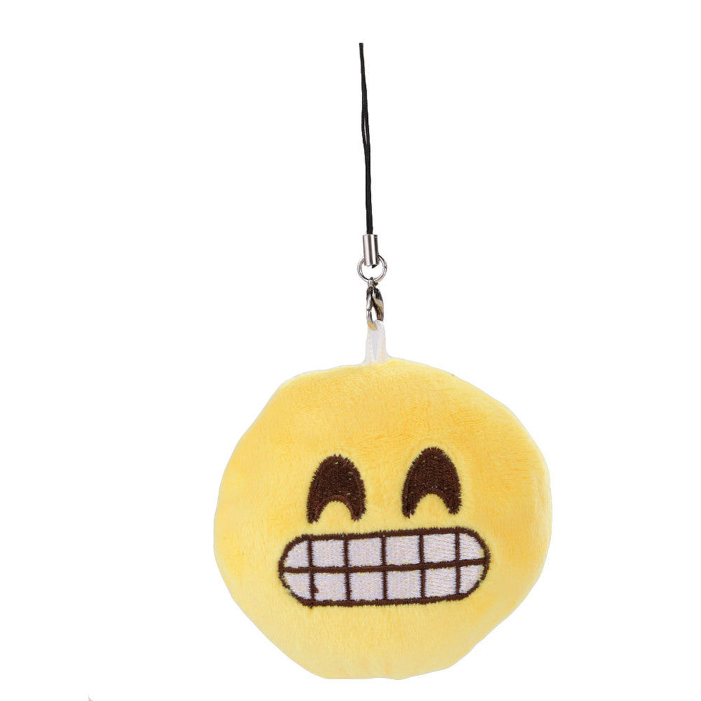 Emoji Keychain - Grinning Face With Smiling Eyes-Just Emoji