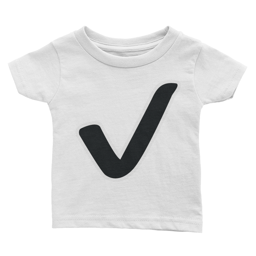 Emoji Baby T-Shirt - Check Mark-Just Emoji