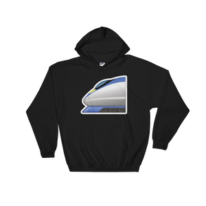 Emoji Hoodie - High Speed Train-Just Emoji