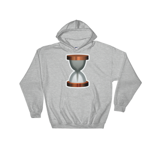 Emoji Hoodie - Hourglass With Flowing Sand-Just Emoji