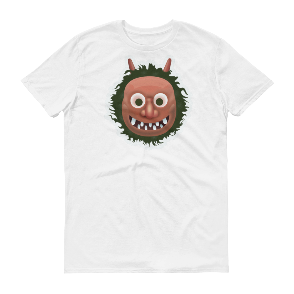 Men's Emoji T-Shirt - Japanese Ogre-Just Emoji