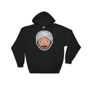 Emoji Hoodie - Man With Turban-Just Emoji