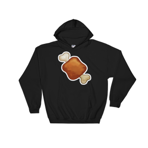 Emoji Hoodie - Meat On Bone-Just Emoji