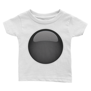Emoji Baby T-Shirt - Black Circle-Just Emoji