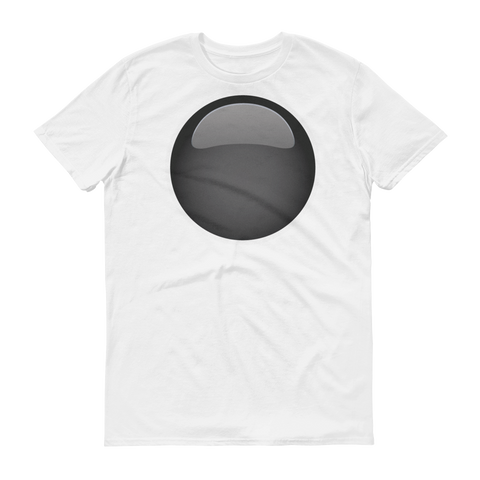 Men's Emoji T-Shirt - Black Circle-Just Emoji