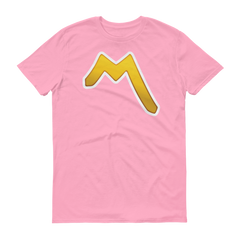 Men's Emoji T-Shirt - Part Alternation Mark-Just Emoji