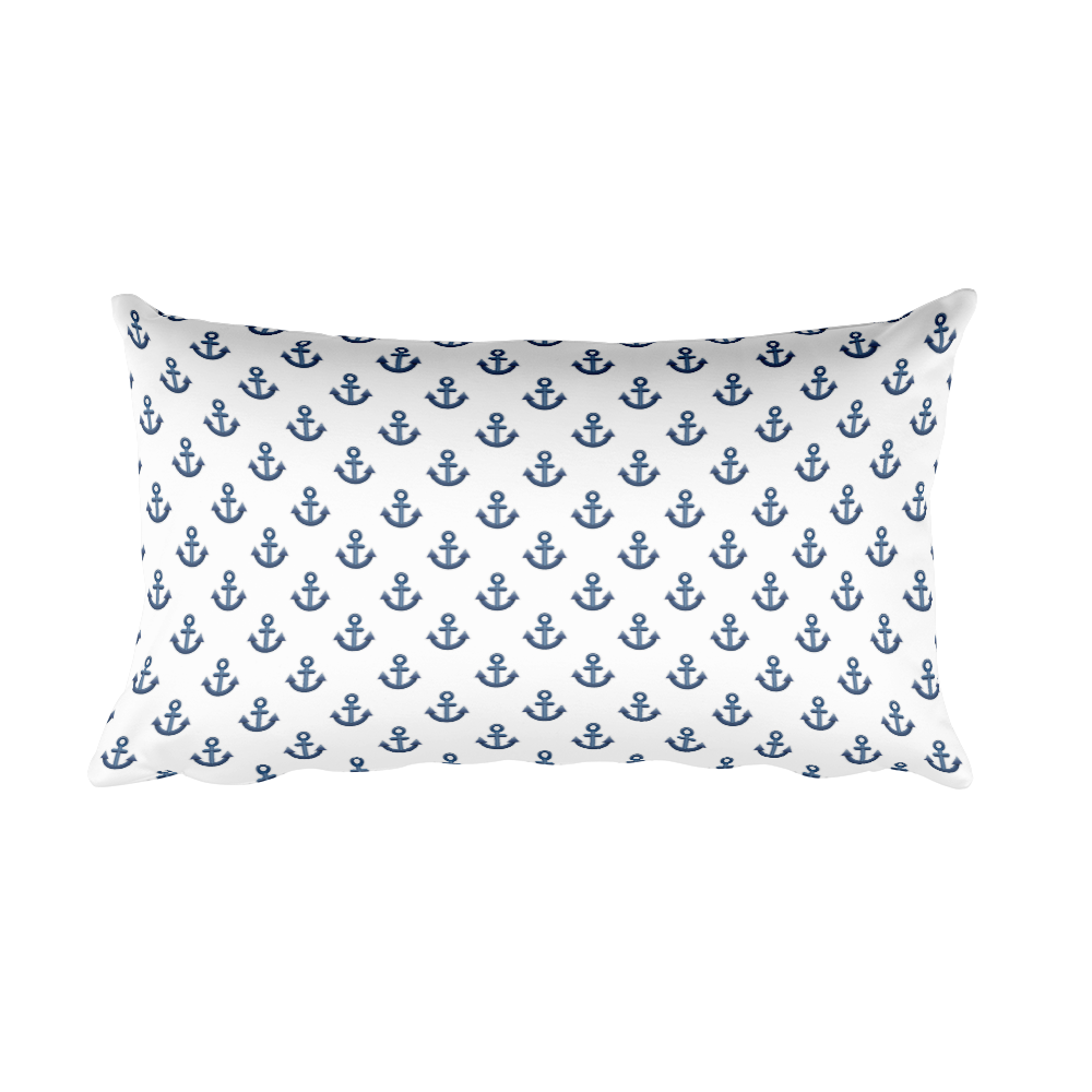 Emoji Bed Pillow - Anchor-Just Emoji