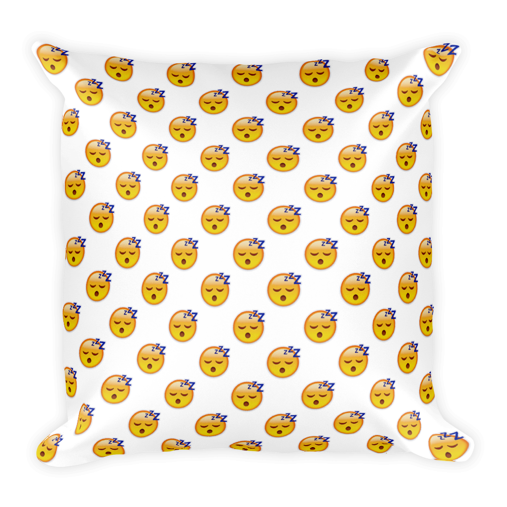 Emoji Pillow - Sleeping Face-Just Emoji