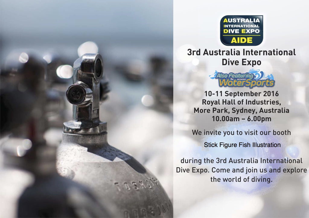 Australian International Dive Expo 2016 (Sept 10-11th)